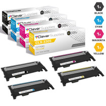 Compatible Samsung CLX-3305 Premium Quality Laser Toner Cartridges 4 Color Set