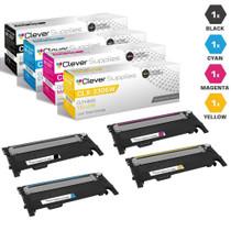 Compatible Samsung CLX-3306W Laser Toner Cartridges 4 Color Set