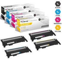 Compatible Samsung CLX-3307 Premium Quality Laser Toner Cartridges 4 Color Set