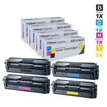 Compatible Samsung CLX-4195FN Premium Quality Laser Toner Cartridges 4 Color Set
