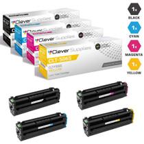 Compatible Samsung CLX-6260ND Laser Toner Cartridges 4 Color Set
