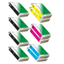 Compatible EPSON CX4400/CX4450 10-SET INK CARTRIDGES: 4 BLACK/2 EACH