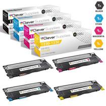 Compatible Dell 1230cn Premium Quality Laser Toner Cartridge 4 Color Set