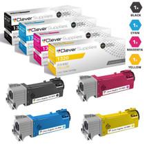 Compatible Dell 1320c Premium Quality Laser Toner Cartridge 4 Color Set