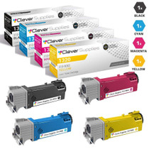 Compatible Dell 1320cn Premium Quality Laser Toner Cartridge 4 Color Set
