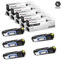 Compatible Dell 1710N Toner Cartridge High Yield Black 5 Pack