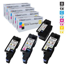 Dell 1755NF Premium OEM Quality Toner Cartridges Compatible High Yield 4 Color Set