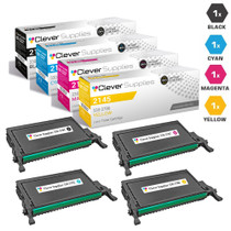 Dell 2145cn Toner Compatible Cartridge High Yield 4 Color Set