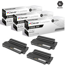 Compatible Dell 2355 Toner Cartridge High Yield Black 3 Pack