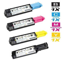 Compatible Dell 310-5726/ 310-5731/ 310-5730/ 310-5729 Toner Cartridge High Yield 4 Color Set