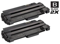 Compatible Dell 310-9523 Toner Cartridge High Yield Black 2 Pack