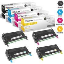 Dell 3115cn Laser High Yield Toner Cartridge 4 Color Set