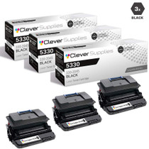 Compatible Dell 330-2045 Toner Cartridge High Yield Black 3 Pack