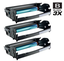 Dell 330-2663 (PK496) Toner Drum Unit Compatible Cartridge Black 3 Pack