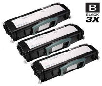 Dell 330-4130 Toner Compatible Cartridge Black 3 Pack