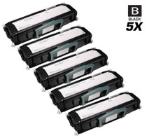 Compatible Dell 330-4130 Premium Quality Toner Cartridge Black 5 Pack