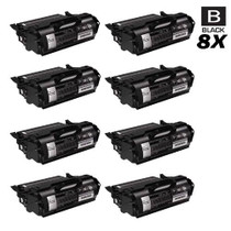 Compatible Dell 330-6968 Toner Cartridge High Yield Black 8 Pack