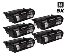 Compatible Dell 330-6968 Premium Quality Toner Cartridge High Yield Black 5 Pack