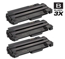 Compatible Dell 330-9524 Toner Cartridge Black 3 Pack