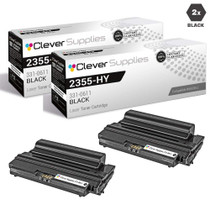 Dell 331-0611 Toner Compatible Cartridge High Yield Black 2 Pack