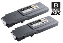 Dell 331-8429 Toner Compatible Cartridge Extra High Yield Black 2 Pack