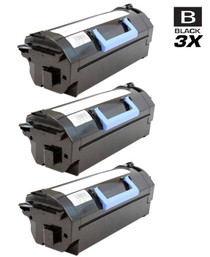 Compatible Dell 331-9795 Toner Cartridge Extra High Yield Black 3 Pack