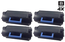 Compatible Dell 331-9797 Premium Quality Toner Cartridge Black 4 Pack