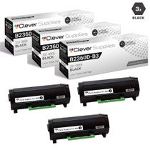 Compatible Dell 331-9805 Toner Cartridge Black 3 Pack