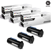 Compatible Dell 331-9807 Toner Cartridge High Yield Black 3 Pack