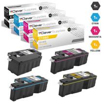 Dell 332-0399/ 332-0400/ 332-0401/ 332-0402 Toner Compatible Cartridge 4 Color Set