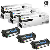 Compatible Dell 332-0131 Toner Cartridge Extra High Yield Black 3 Pack