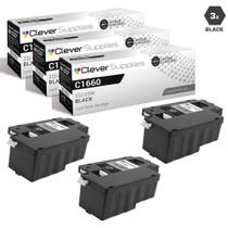 Dell 332-0399 Toner Compatible Cartridge Black 3 Pack