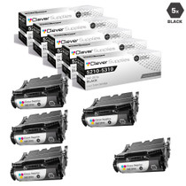Compatible Dell 5210 Toner Cartridge High Yield Black 5 Pack