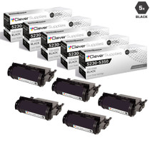 Compatible Dell 5230DN Toner Cartridge High Yield Black 5 Pack