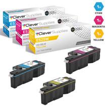 Compatible Dell Laser Toner Cartridges 3 Color Set (593-BBJU/ 593-BBJV/ 593-BBJW)