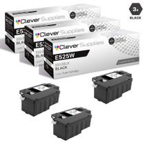 Compatible Dell 593-BBJX Laser Toner Cartridges Black 3 Pack