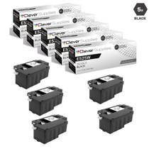Compatible Dell 593-BBJX Laser Toner Cartridges Black 5 Pack