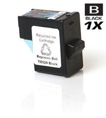 Compatible Dell 720 Ink Remanufactured Cartridge Black