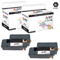 Dell 810WH Laser Toner Cartridges Compatible High Yield Black 2 Pack