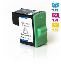Compatible Dell T0530 Ink Remanufactured Cartridge Tri Color