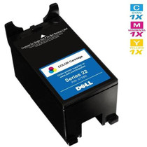 Dell X738N Ink Remanufactured Cartridge High Yield Tri Color