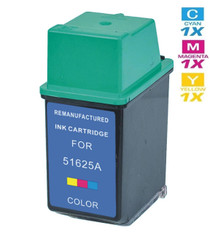 CS Compatible Replacement for HP Deskjet 320 Ink Cartridge Remanufactured Tri Color