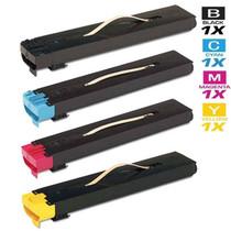 Compatible Xerox DocuColor 240 Laser Toner Cartridges 4 Color Set