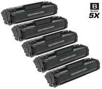 Canon FX-3 (1557A002BA) Toner Cartridges Compatible Black 5 Pack