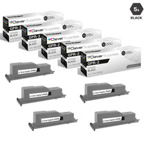 Compatible Canon GPR-2 (1388A003AA) Toner Cartridges Black 5 Pack