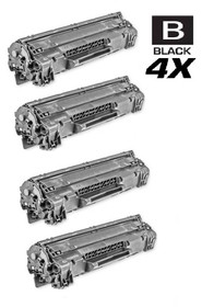 HP CE278A Toner Compatible Cartridge Black 4 Pack/ HP 78A