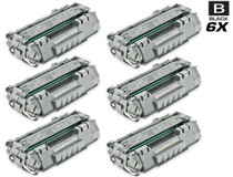 CS Compatible Replacement for HP CE505A Toner Cartridge Black 6 Pack/ HP 05A