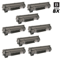 HP CF283A Toner Compatible Cartridge Black 8 Pack/ HP 83A