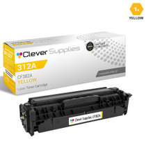 CS Compatible Replacement for HP CF382A Toner Cartridge Yellow/ HP 312A Toner