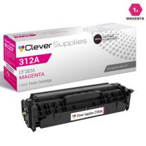 CS Compatible Replacement for HP CF383A Toner Cartridge Magenta/ HP 312A Toner